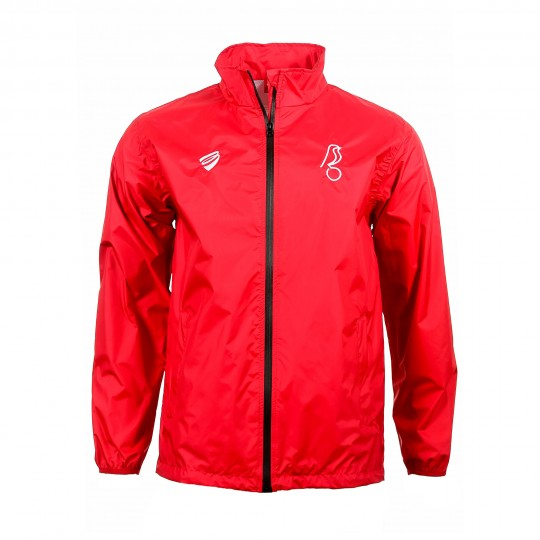 BCFC 19/20 TRG Red Player Rain Jacket Adt