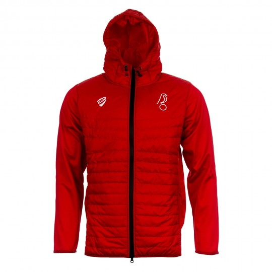BCFC 19/20 TRG Red Hybrid Puffa Jacket Adt