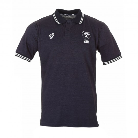 BEARS 19/20 LEI Navy Cotton Polo Yth