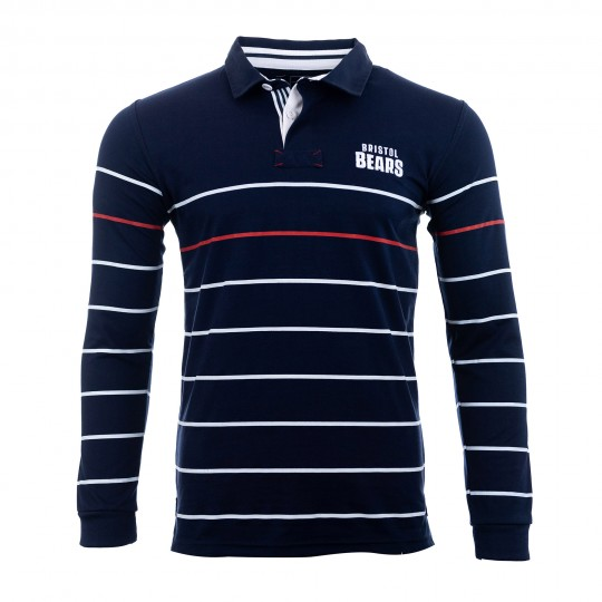BEARS 19/20 HER Navy White Red Rugby Jersey Adt