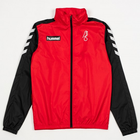 20/21 BCFC CORE SPRAY JACKET RED YOUTH