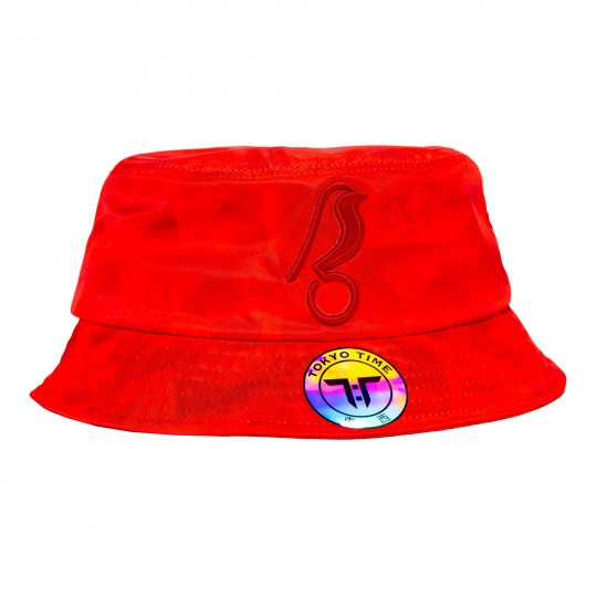 CITY Tokyo Time Ltd Edition Bucket Hat Red