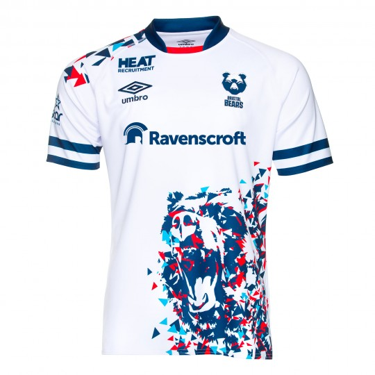 20/21 Bristol Bears Away Shirt Adult