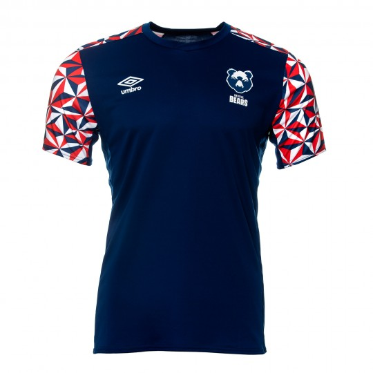 20/21 Bristol Bears Gym Tee (Navy) Youth