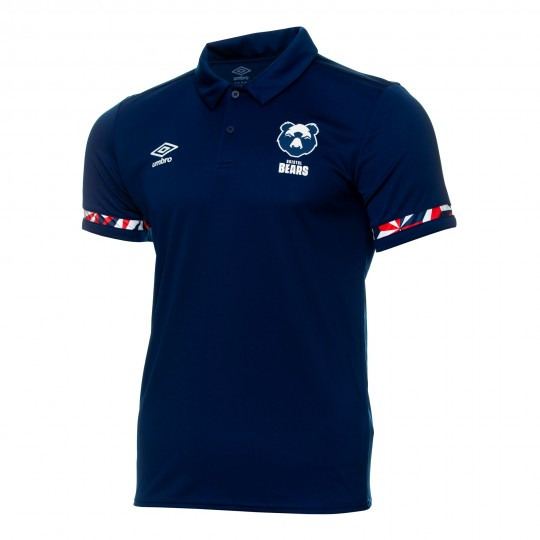 20/21 Bristol Bears Poly Polo (Navy) Women's