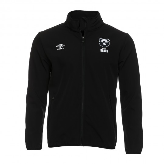 20/21 Bristol Bears Bonded Jacket- Black Adult