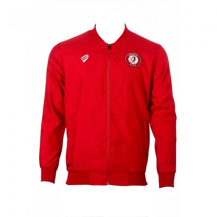BCFC 19/20 TRG Red Player Presentation Jacket Adt