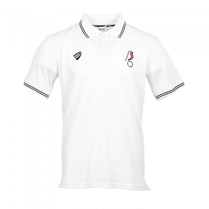 BCFC 19/20 LEI White Cotton Polo Adt
