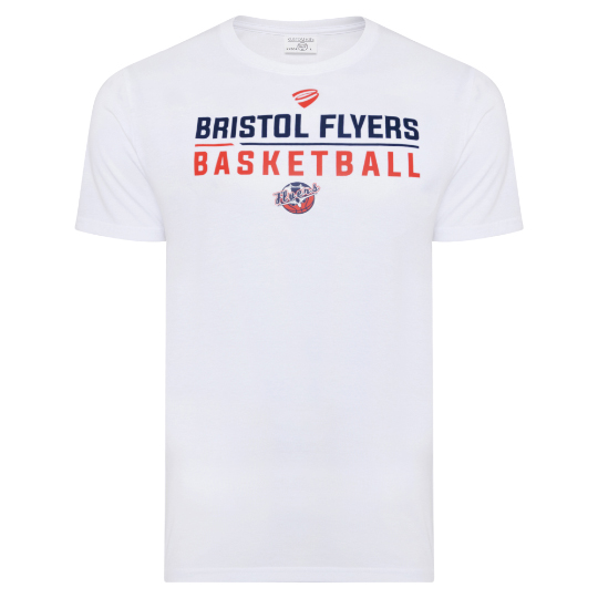 FLYERS 19/20 TRG White Deluxe Tee Adt