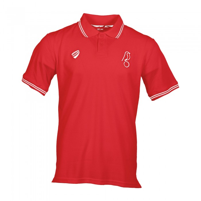 BCFC 19/20 LEI Red Cotton Polo Adt