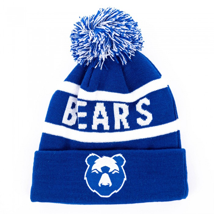 BEARS Text Bobble Hat Adt