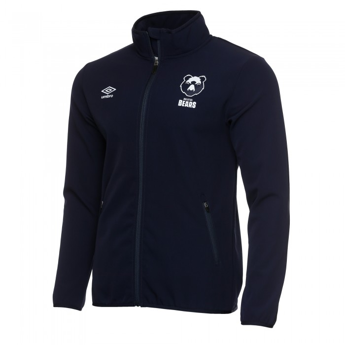 20/21 Bristol Bears Bonded Jacket- Navy Adult