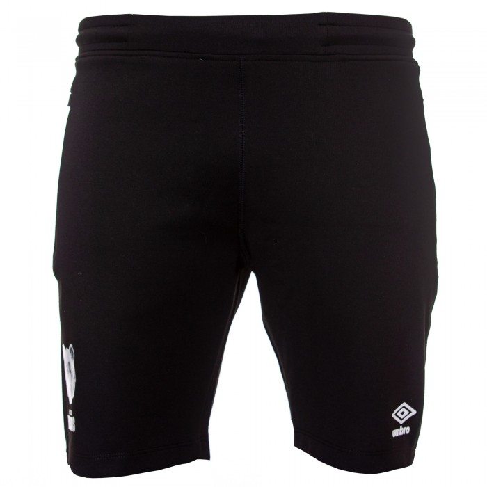 20/21 Bristol Bears Fleece Short - Black Adult