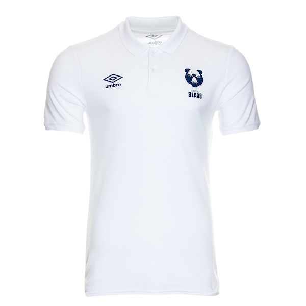 20/21 Bristol Bears Travel Polo White Adult