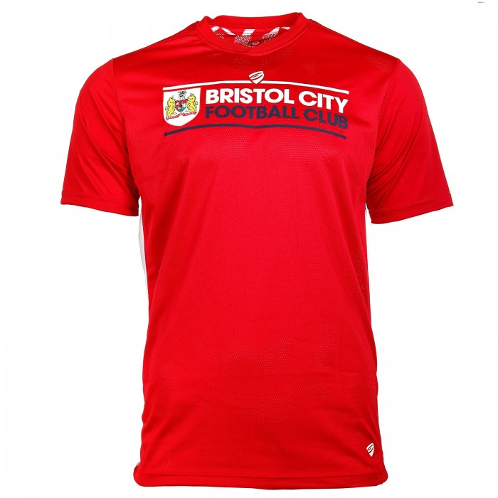 BCFC 18/19 Adult TRG Red Dri-Fit T-Shirt