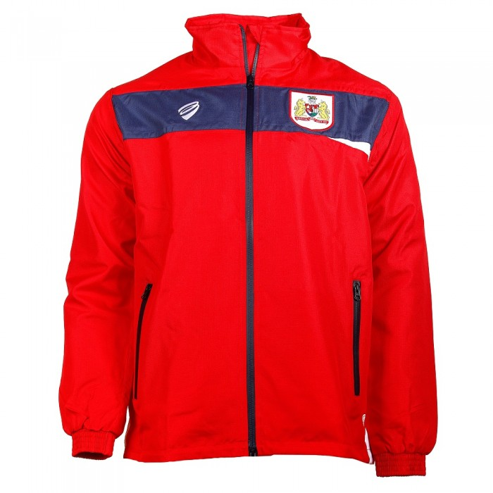 BCFC 18/19 Adult TRG Rain Jacket