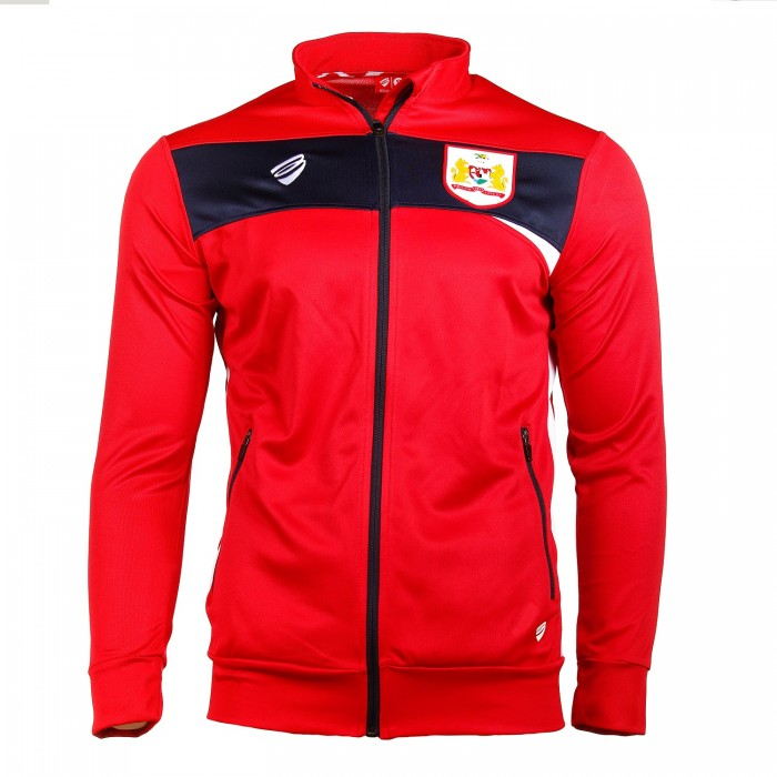 BCFC 18/19 Youth TRG Red Anthem Jacket