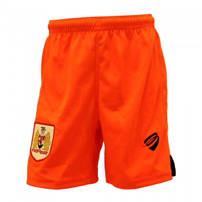BCFC 18/19 Youth Away GK Shorts