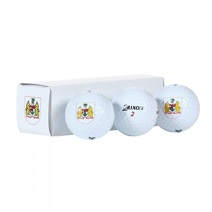 BCFC 3 Pack Golf Balls