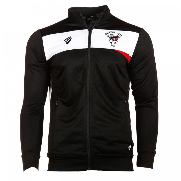 BCFC 18/19 Youth TRG Black Anthem Jacket