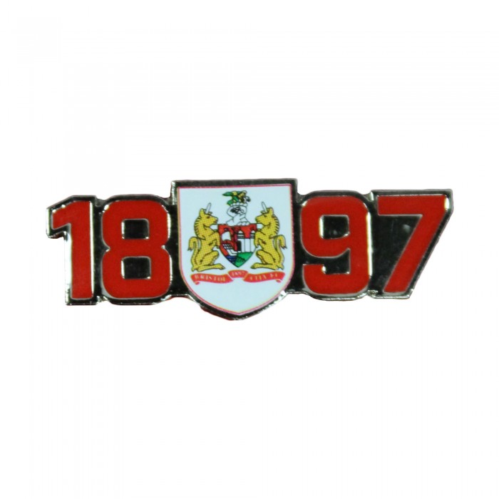 BCFC Year with Crest Pin Badge