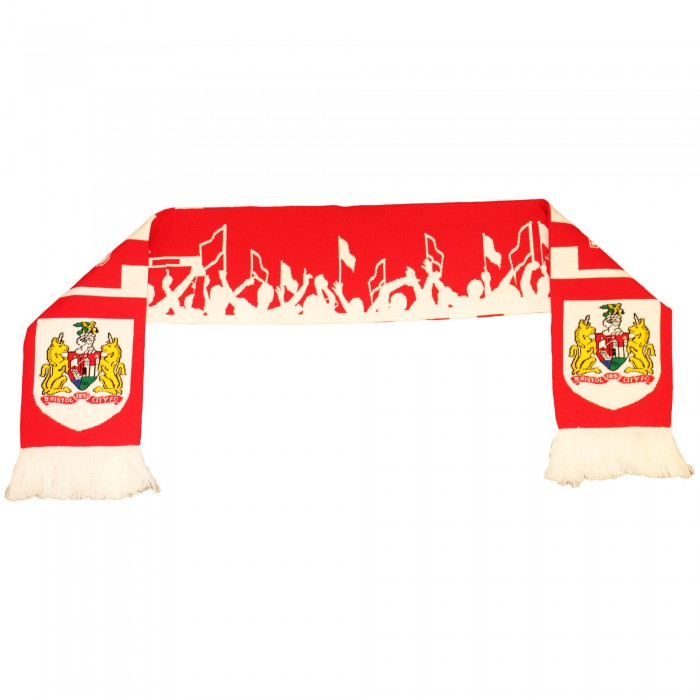 BCFC Fan Design Scarf