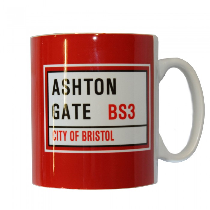 BCFC Ashton Gate Sign Mug