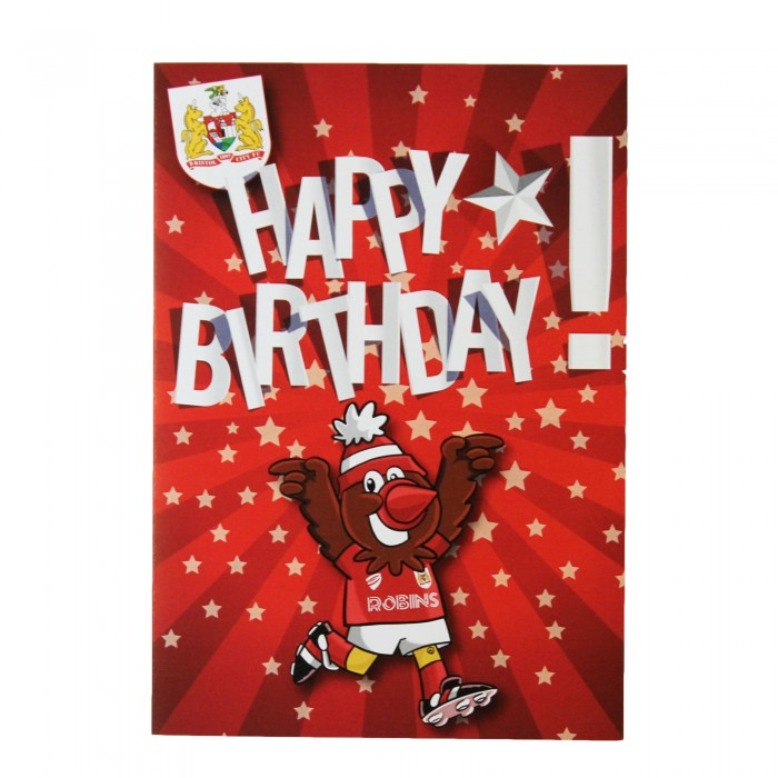BCFC Happy Birthday Celebration Scrumpy Card