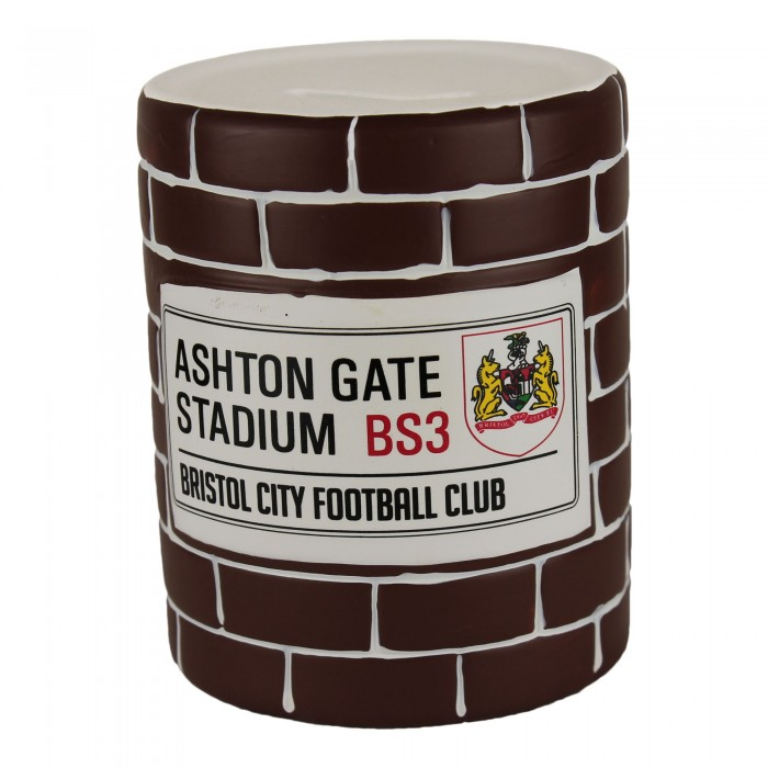 BCFC Brick Wall Money Box