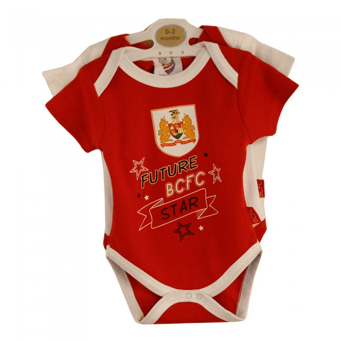 BCFC Future Star 2 Pack Bodysuit